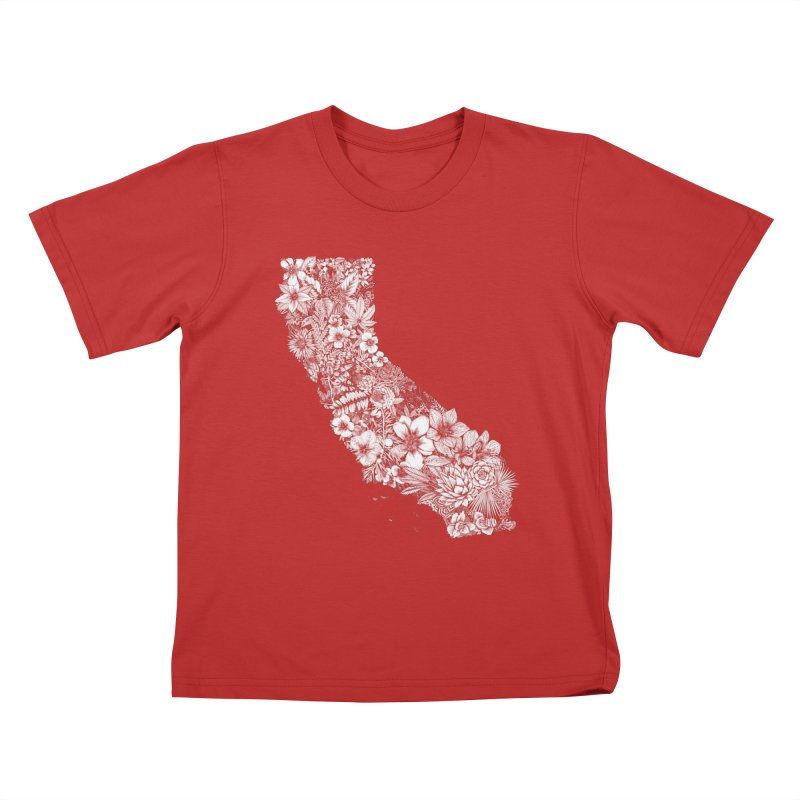 California Native Kids T-Shirt by littlepatterns by Maggie Enterrios