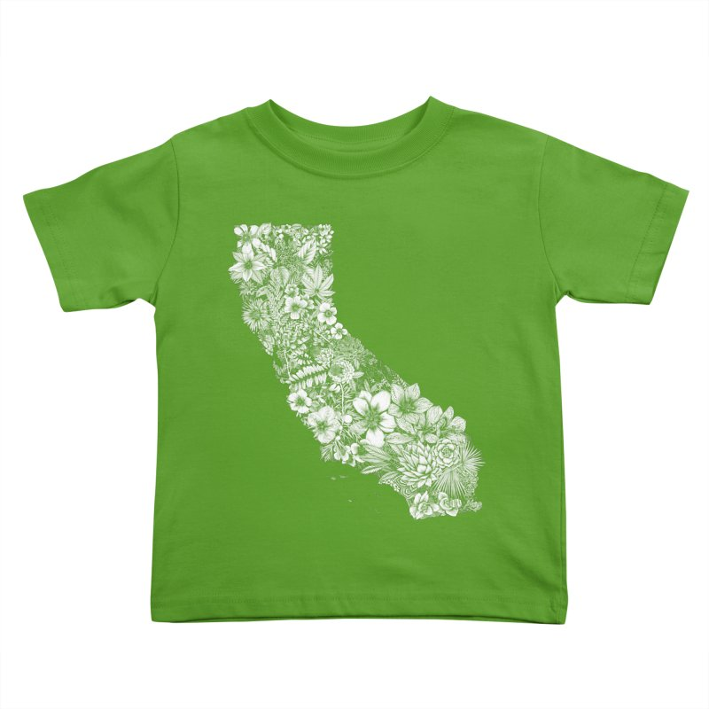 California Native Kids Toddler T-Shirt by littlepatterns by Maggie Enterrios
