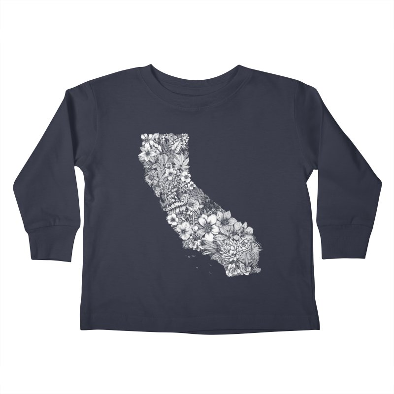 California Native Kids Toddler Longsleeve T-Shirt by littlepatterns by Maggie Enterrios