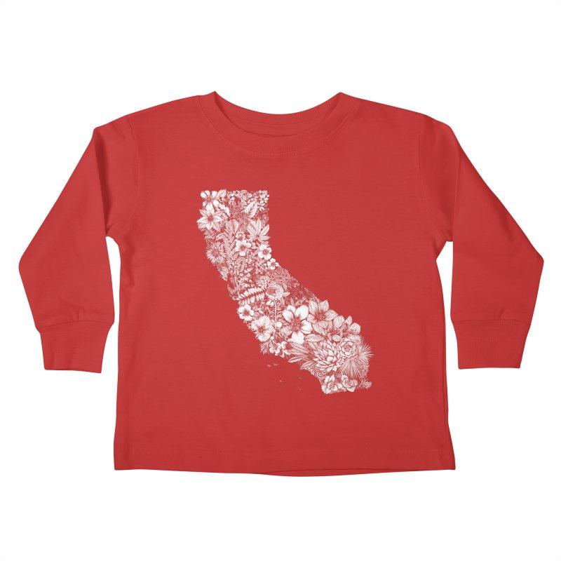 California Native Kids Toddler Longsleeve T-Shirt by littlepatterns by Maggie Enterrios
