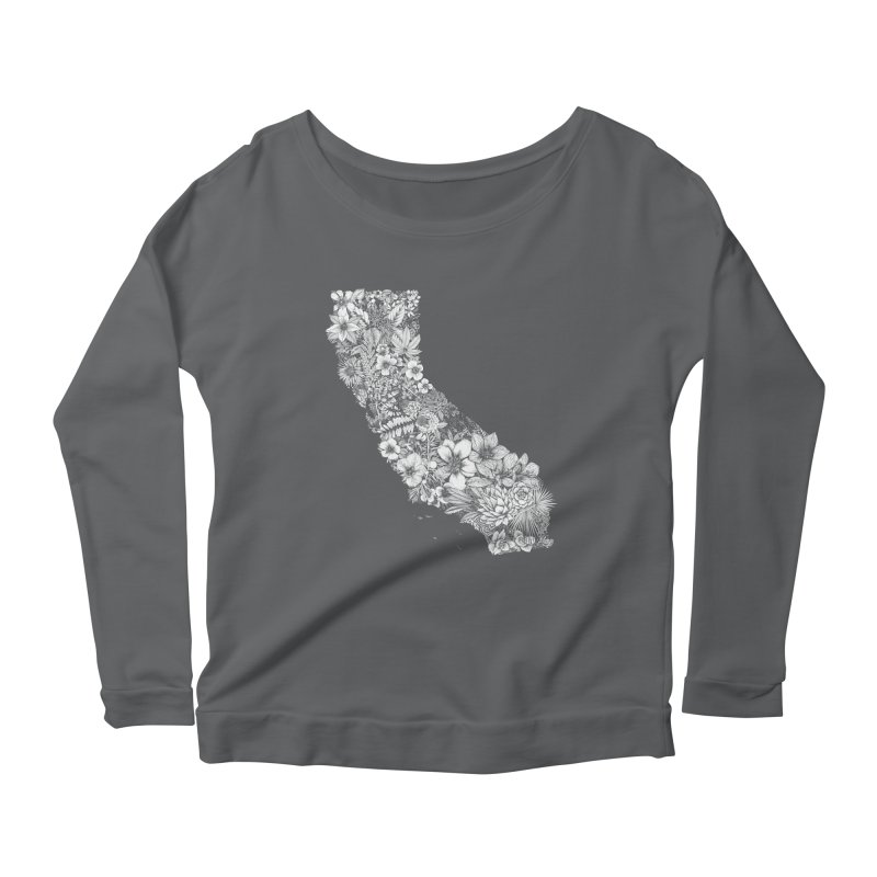 California Native Women's Longsleeve T-Shirt by littlepatterns by Maggie Enterrios