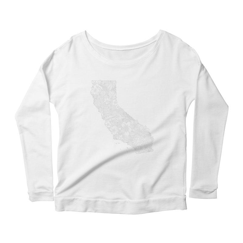 California Native Women's Longsleeve T-Shirt by littlepatterns by Maggie Enterrios