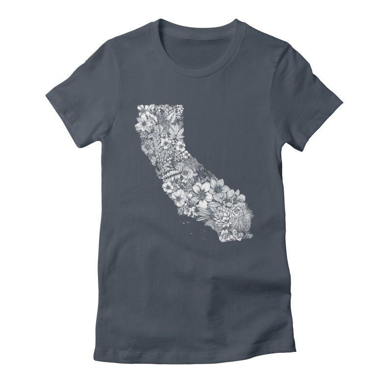 California Native Women's T-Shirt by littlepatterns by Maggie Enterrios