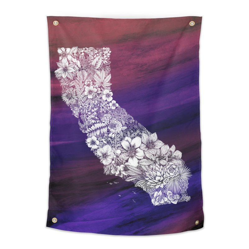 California Native in Tapestry by littlepatterns by Maggie Sichter