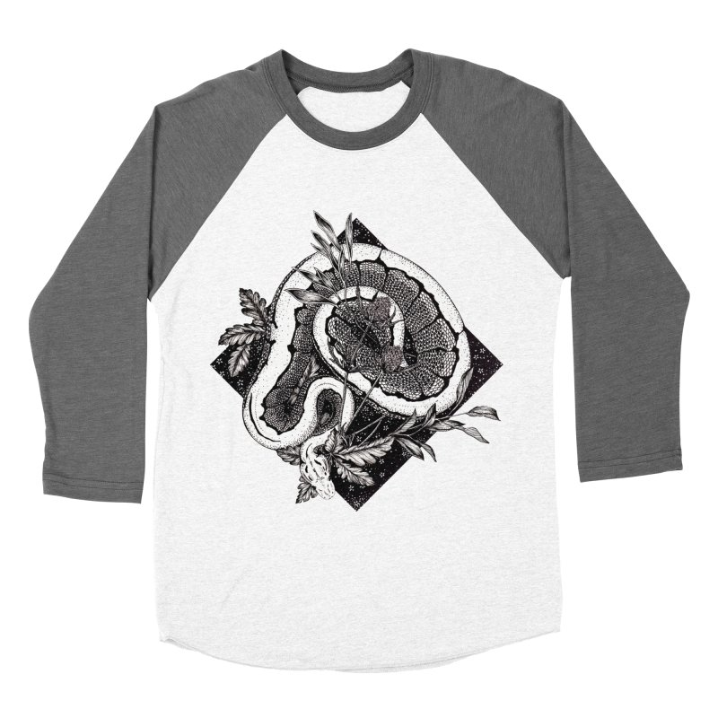 Slither and Hiss Men's Longsleeve T-Shirt by littlepatterns by Maggie Enterrios