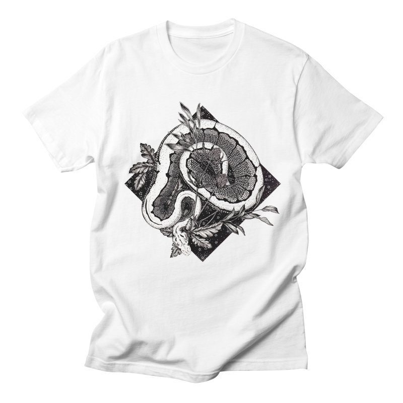 Slither and Hiss Women's Regular Unisex T-Shirt by littlepatterns by Maggie Enterrios
