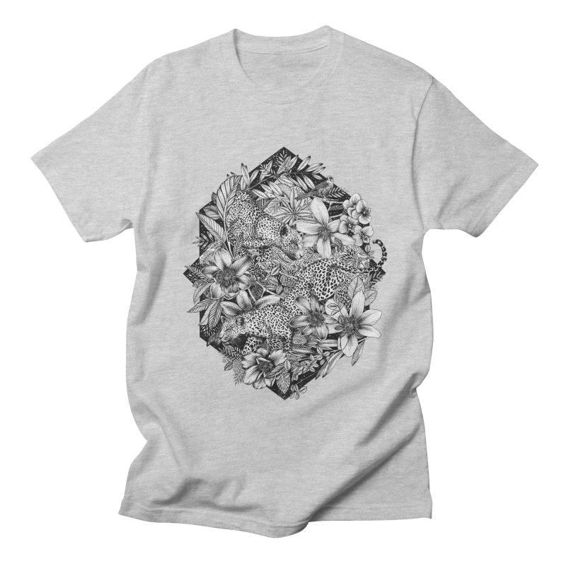 Leopard Print Women's Regular Unisex T-Shirt by littlepatterns by Maggie Enterrios