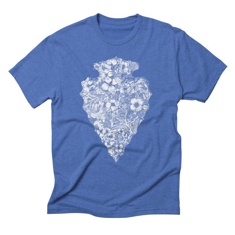 Arrowhead Men's Triblend T-Shirt by littlepatterns by Maggie Enterrios