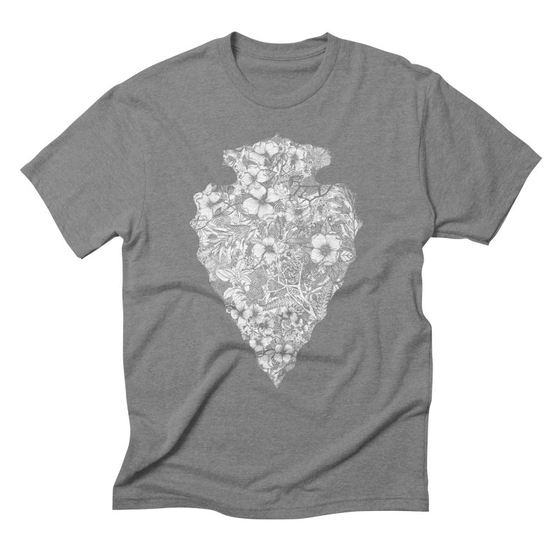 Arrowhead Men's Triblend T-Shirt by littlepatterns by Maggie Enterrios