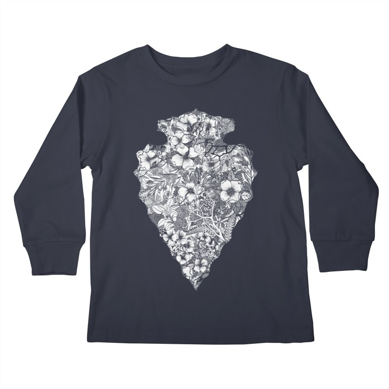Arrowhead Kids Longsleeve T-Shirt by littlepatterns by Maggie Enterrios