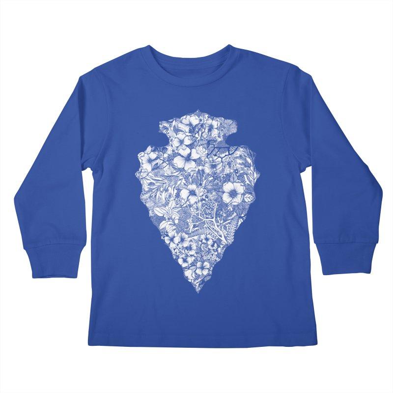 Arrowhead Kids Longsleeve T-Shirt by littlepatterns by Maggie Enterrios