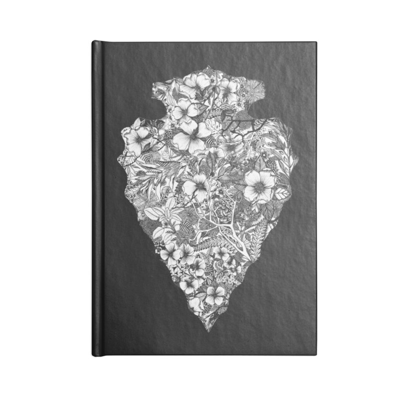 Arrowhead Accessories Lined Journal Notebook by littlepatterns by Maggie Enterrios