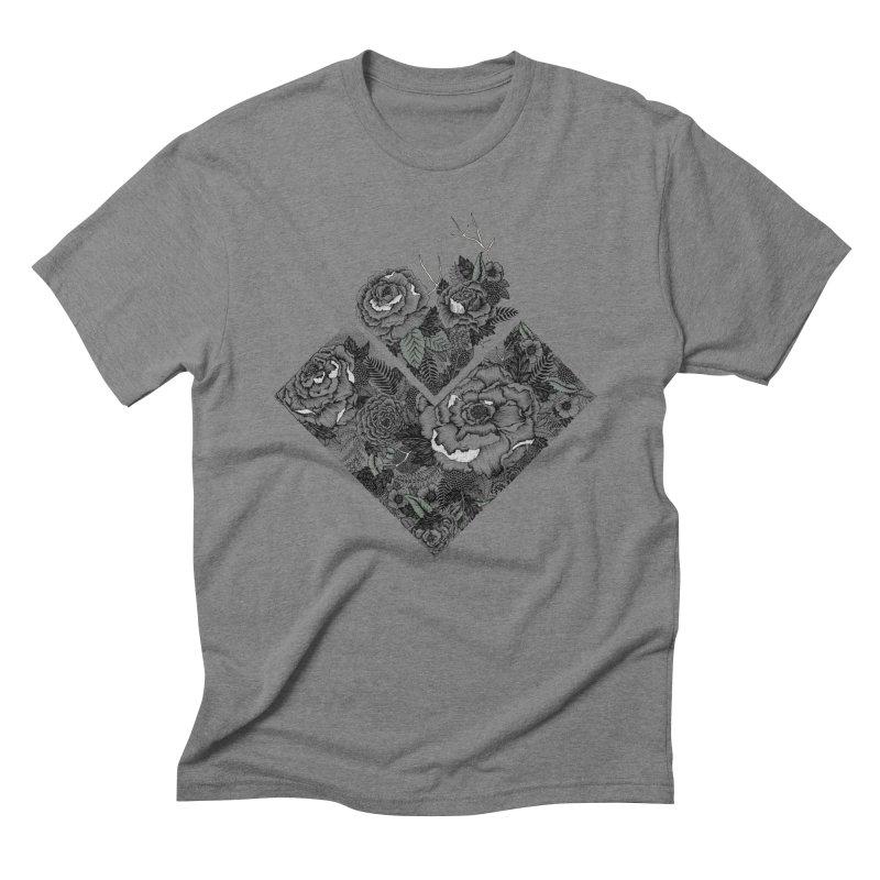 Exploding Garden Men's T-Shirt by littlepatterns by Maggie Enterrios