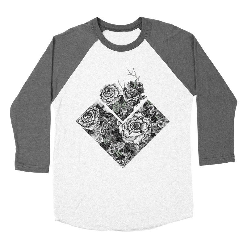 Exploding Garden Women's Longsleeve T-Shirt by littlepatterns by Maggie Enterrios