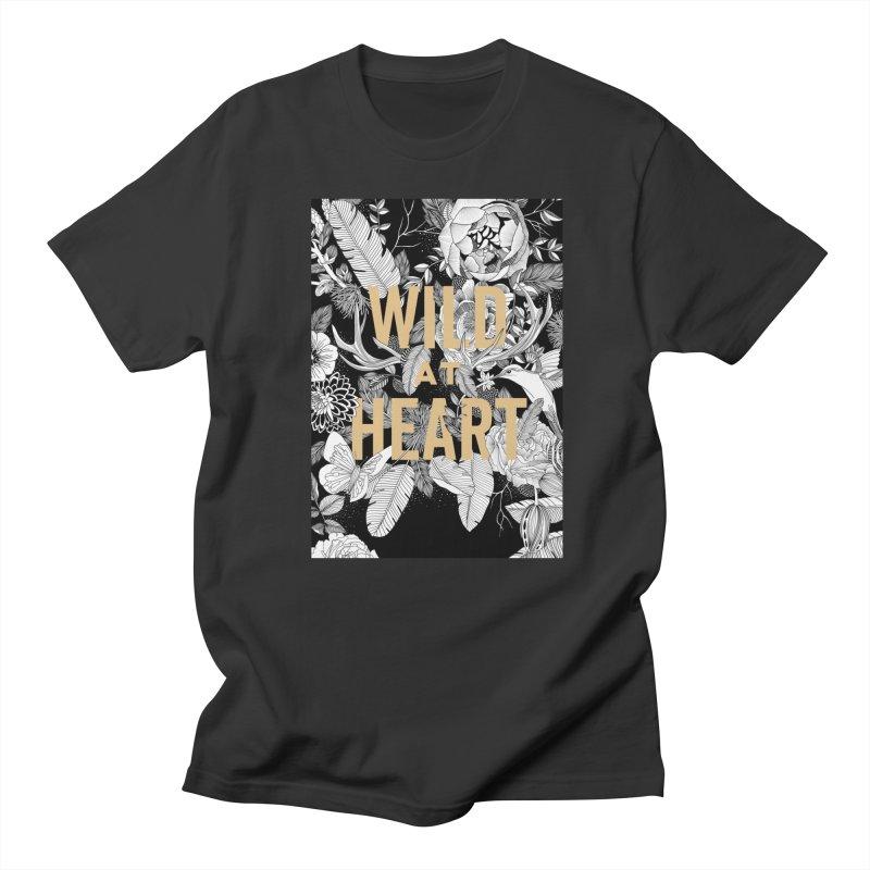 Wild at Heart Women's T-Shirt by littlepatterns by Maggie Enterrios