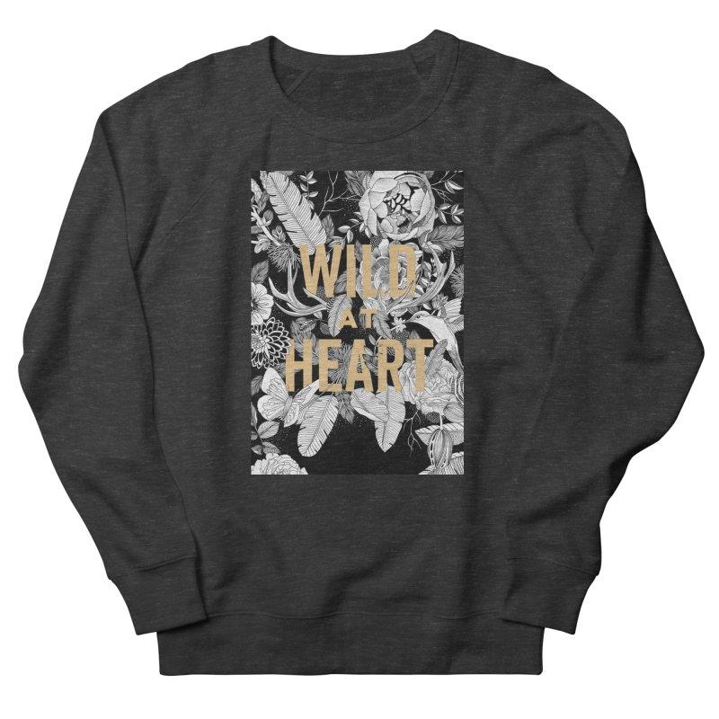 Wild at Heart Women's Sweatshirt by littlepatterns by Maggie Enterrios