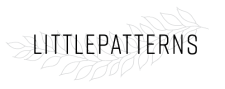Logo for littlepatterns by Maggie Enterrios