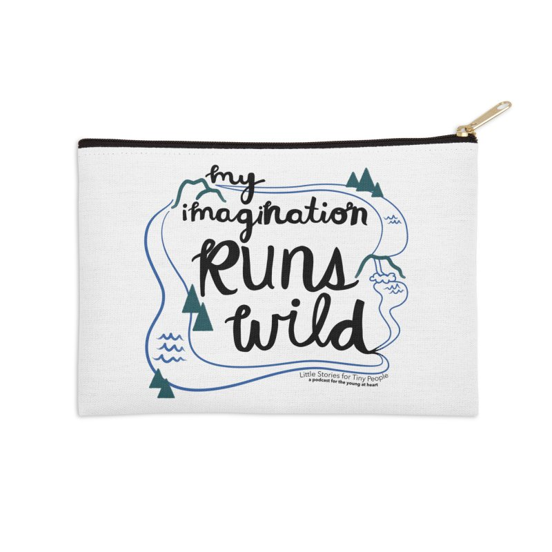My Imagination Runs Wild Accessories Zip Pouch by Little Stories for Tiny People's Shop