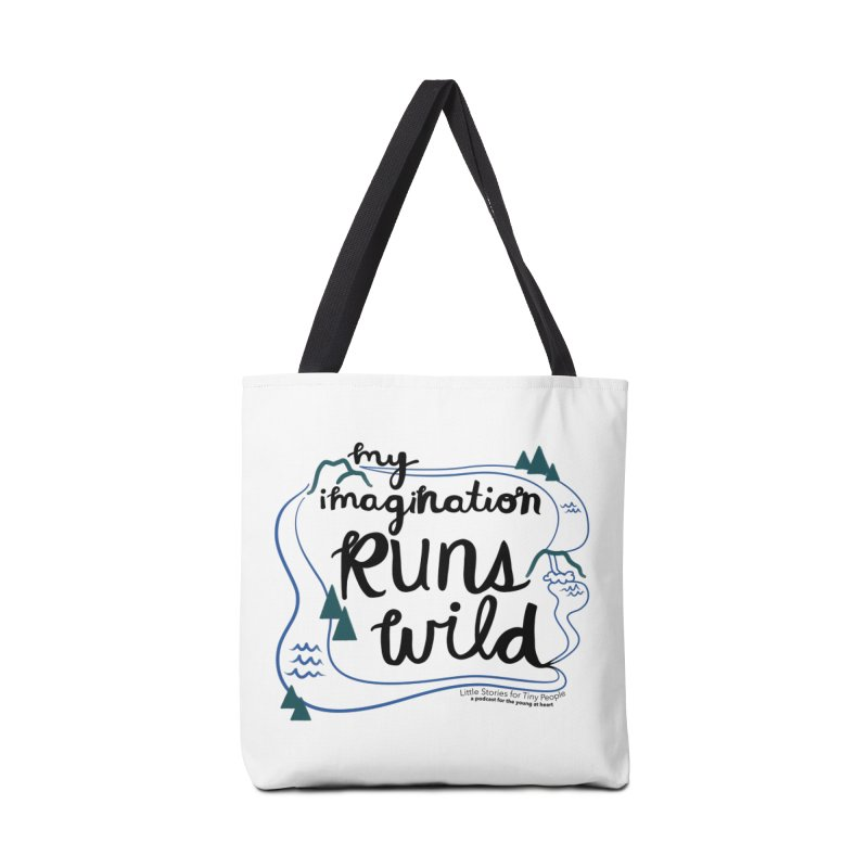 My Imagination Runs Wild Accessories Tote Bag Bag by Little Stories for Tiny People's Shop
