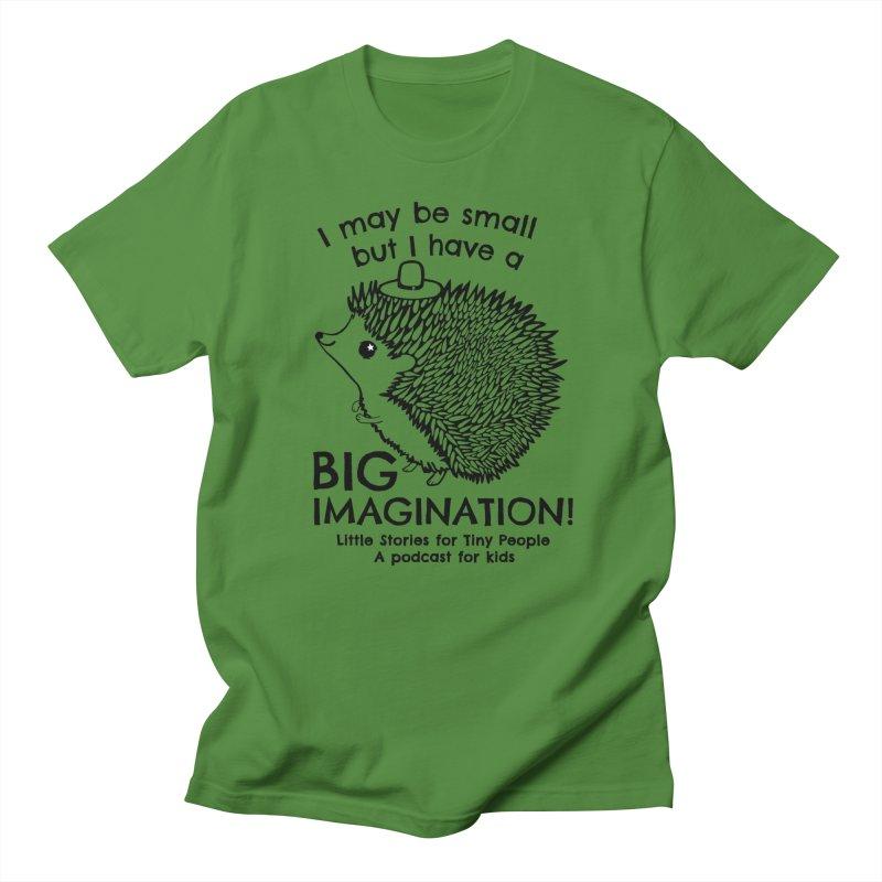 Little Hedgehog's Big Imagination Men's T-Shirt by Little Stories for Tiny People's Shop