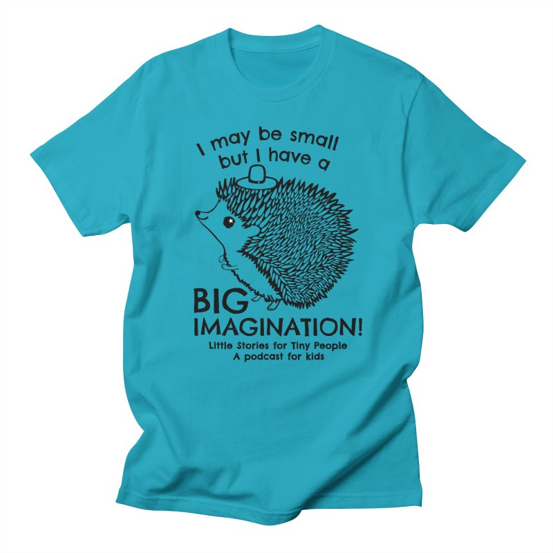 Little Hedgehog's Big Imagination Men's T-Shirt by Little Stories for Tiny People's Shop