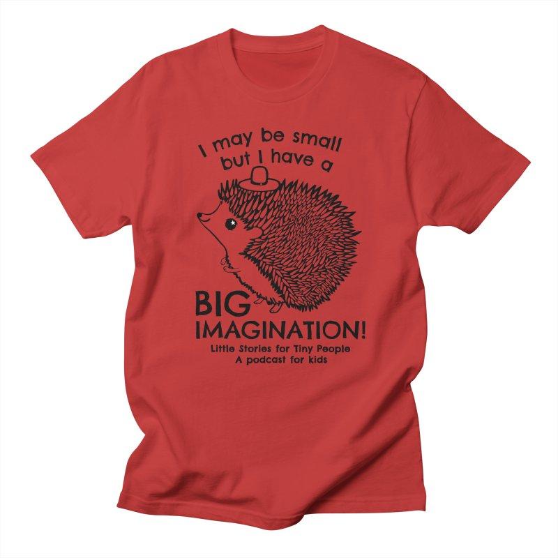 Little Hedgehog's Big Imagination Men's Regular T-Shirt by Little Stories for Tiny People's Shop
