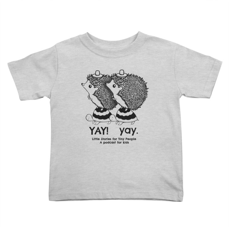 Little Hedgehog and Bebe on Turtles! Kids Toddler T-Shirt by Little Stories for Tiny People's Shop