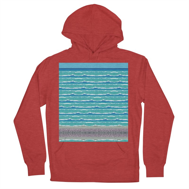 O-cean Women's French Terry Pullover Hoody by liuyingchieh's Artist Shop