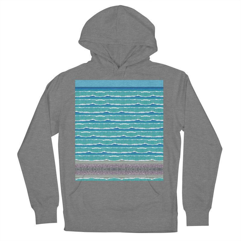 O-cean Men's French Terry Pullover Hoody by liuyingchieh's Artist Shop