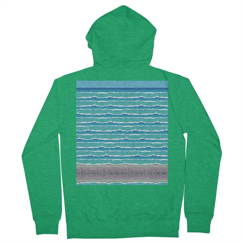 O-cean Men's French Terry Zip-Up Hoody by liuyingchieh's Artist Shop