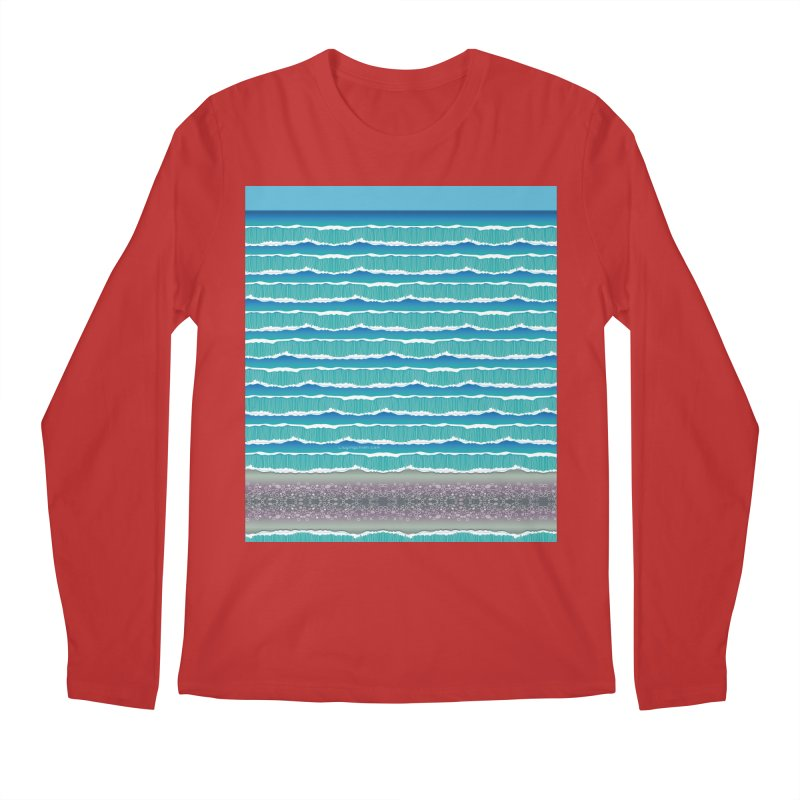 O-cean Men's Regular Longsleeve T-Shirt by liuyingchieh's Artist Shop
