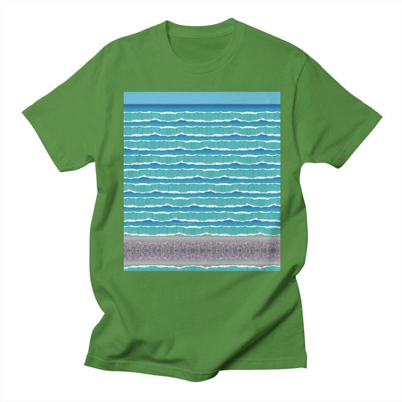 O-cean Men's Regular T-Shirt by liuyingchieh's Artist Shop