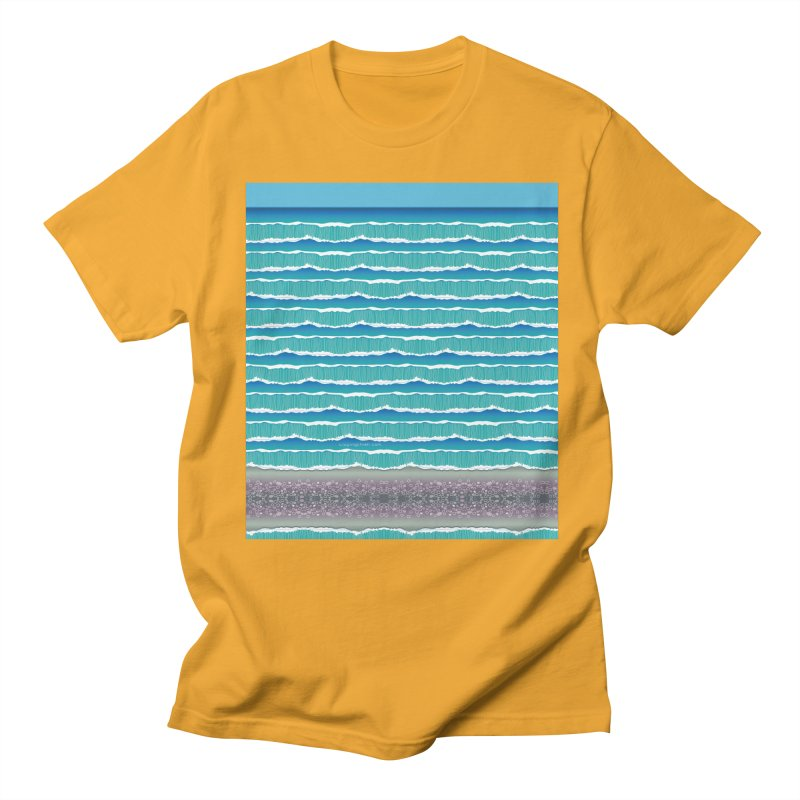 O-cean Men's Regular T-Shirt by liuyingchieh's Artist Shop
