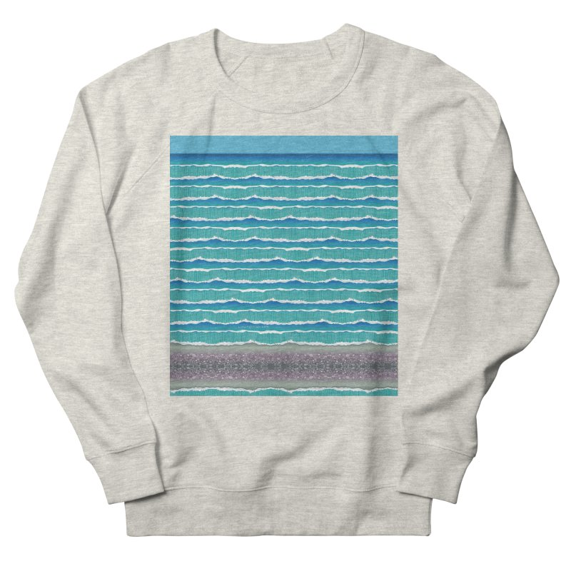 O-cean Women's French Terry Sweatshirt by liuyingchieh's Artist Shop