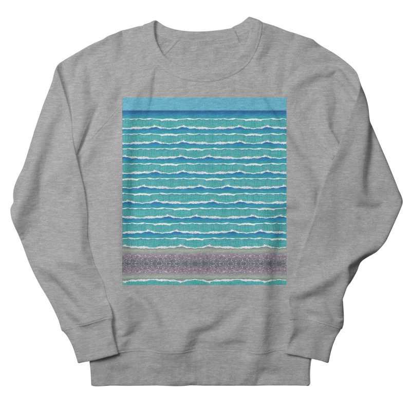 O-cean Men's French Terry Sweatshirt by liuyingchieh's Artist Shop