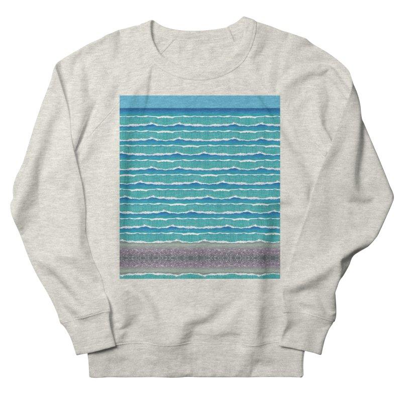 O-cean Men's French Terry Sweatshirt by liuyingchieh's Artist Shop