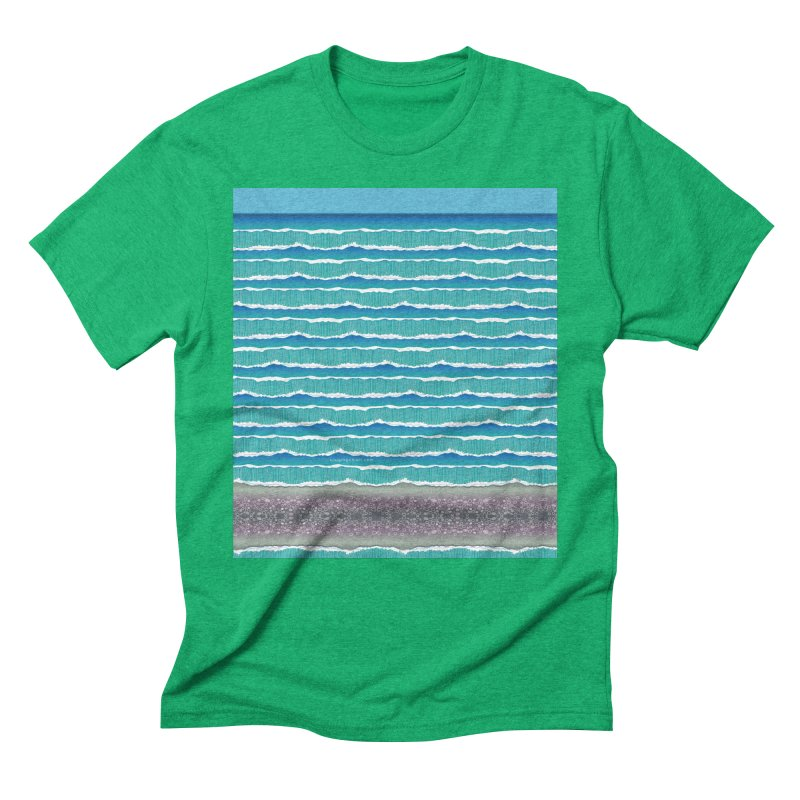 O-cean Men's Triblend T-Shirt by liuyingchieh's Artist Shop