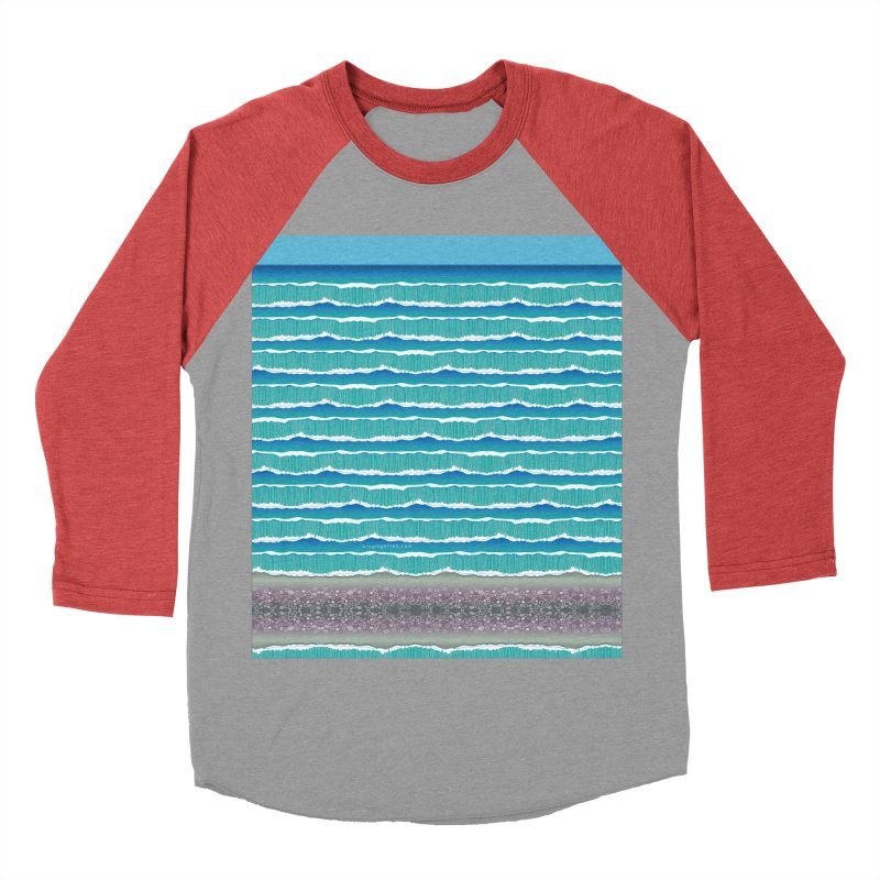 O-cean Women's Baseball Triblend Longsleeve T-Shirt by liuyingchieh's Artist Shop