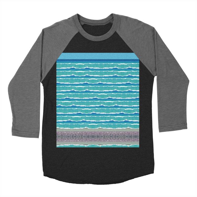 O-cean Men's Baseball Triblend Longsleeve T-Shirt by liuyingchieh's Artist Shop