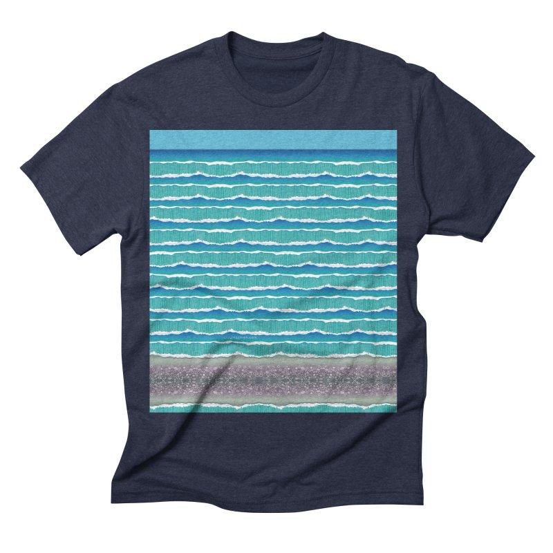 O-cean Men's Triblend T-shirt by liuyingchieh's Artist Shop