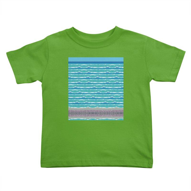 O-cean Kids Toddler T-Shirt by liuyingchieh's Artist Shop