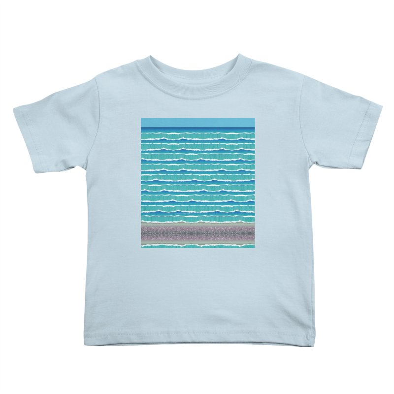 O-cean Kids Toddler T-Shirt by liuyingchieh's Artist Shop