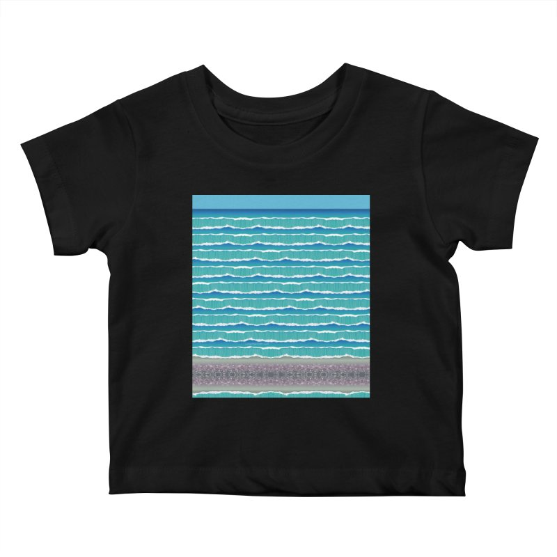 O-cean Kids Baby T-Shirt by liuyingchieh's Artist Shop