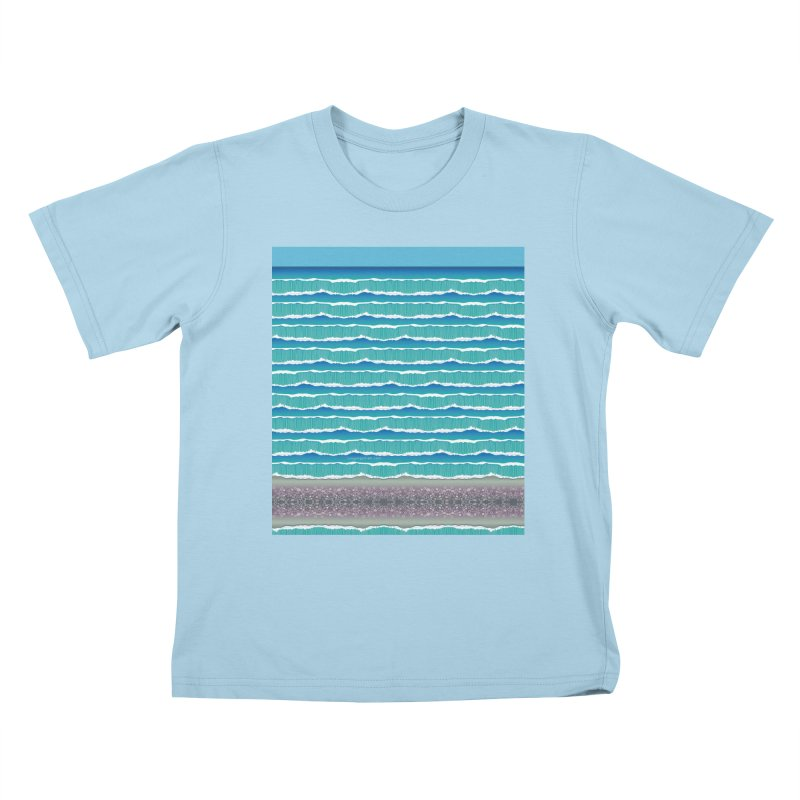 O-cean Kids T-Shirt by liuyingchieh's Artist Shop