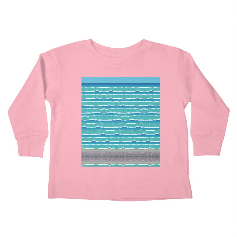 O-cean Kids Toddler Longsleeve T-Shirt by liuyingchieh's Artist Shop