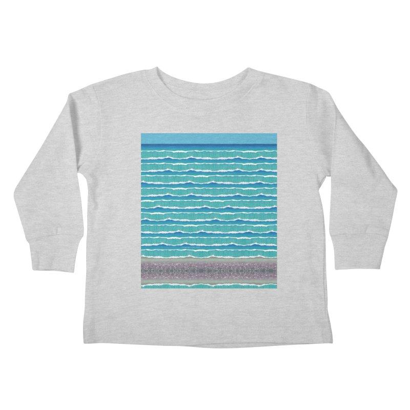 O-cean Kids Toddler Longsleeve T-Shirt by liuyingchieh's Artist Shop