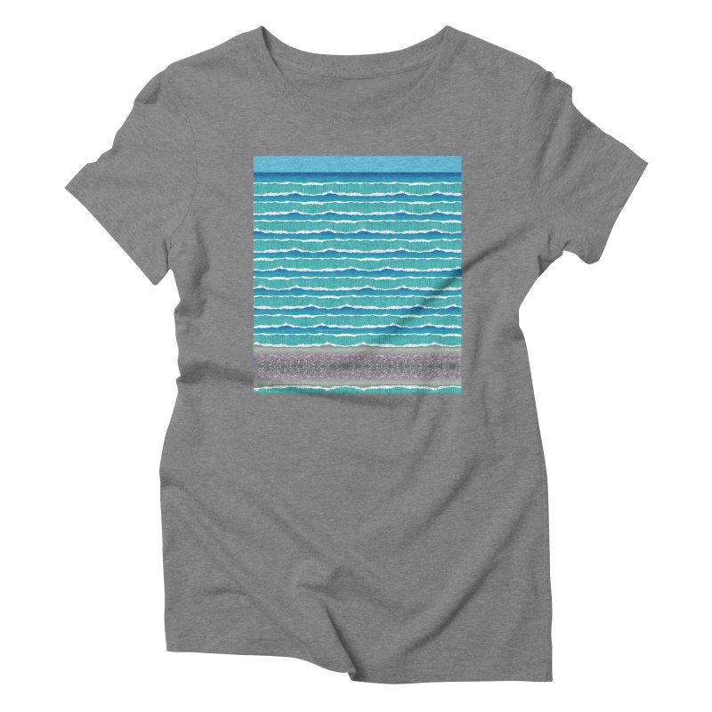 O-cean Women's Triblend T-Shirt by liuyingchieh's Artist Shop