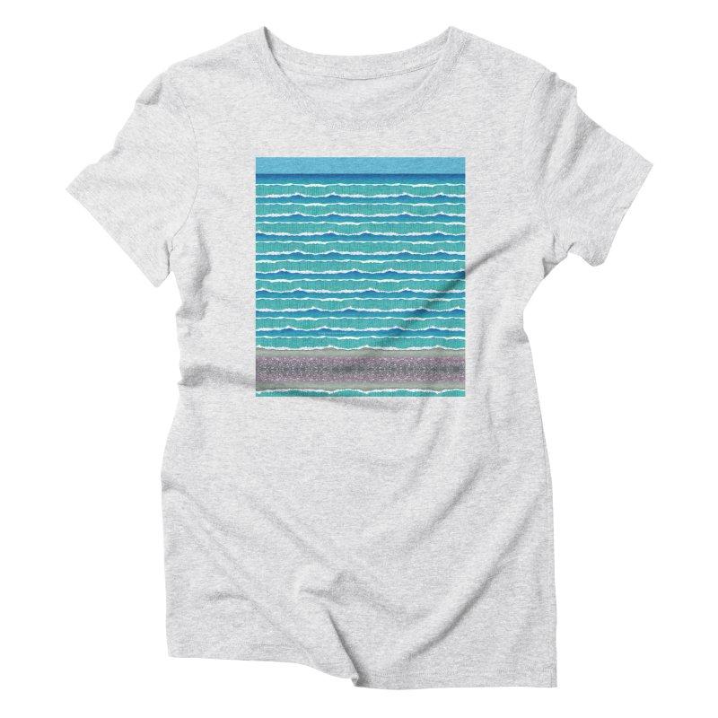 O-cean Women's Triblend T-Shirt by liuyingchieh's Artist Shop