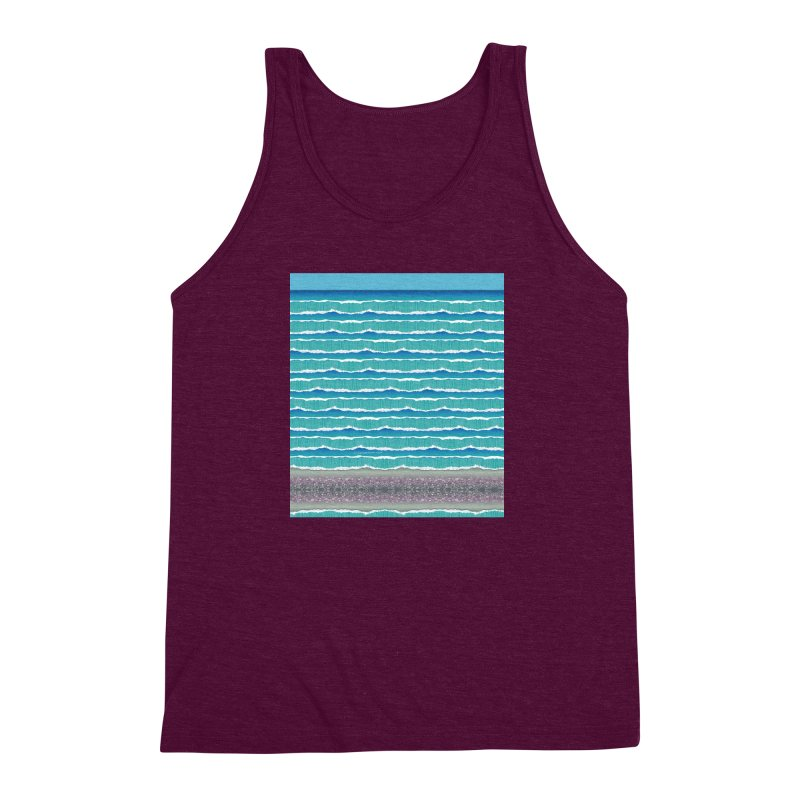 O-cean Men's Triblend Tank by liuyingchieh's Artist Shop