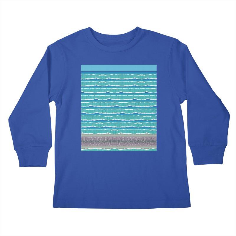 O-cean Kids Longsleeve T-Shirt by liuyingchieh's Artist Shop